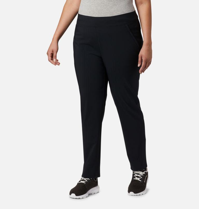 Back Beauty™ II Slim Pant | 010 | 3X Women's Back Beauty™ II Slim Pants - Plus Size, Black, front