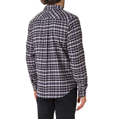 Men's Flare Gun Stretch Flannel Shirt Flare Gun™ Stretch Flannel | 369 | S, Shark Grid, back