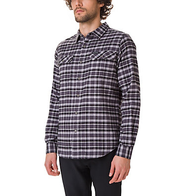 Men's Flare Gun Stretch Flannel Shirt Flare Gun™ Stretch Flannel | 369 | S, Shark Grid, front