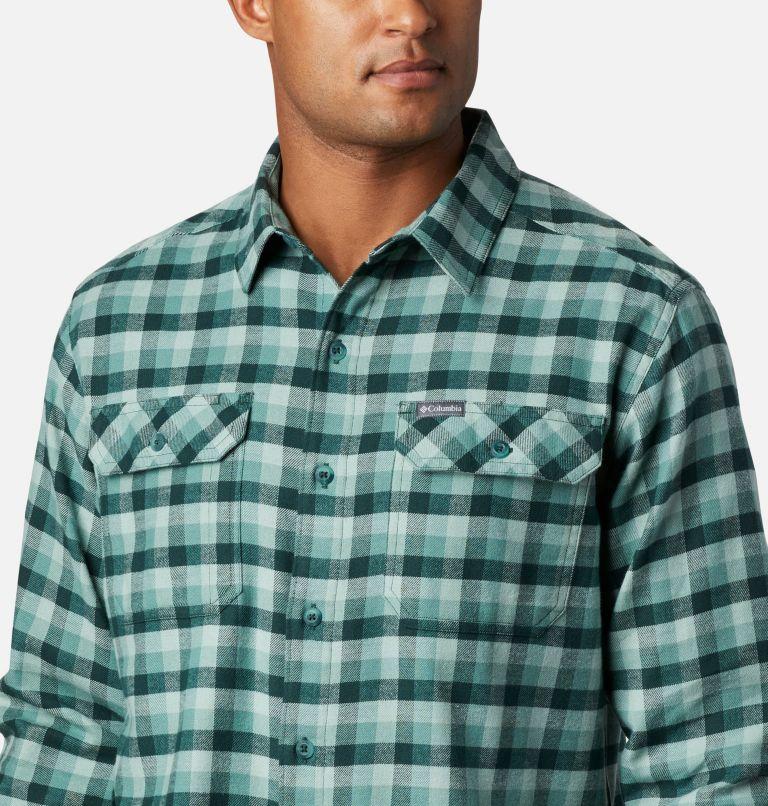 Flare Gun™ Stretch Flannel | 369 | M Camicia Flare Gun Stretch Flannel da uomo, Thyme Green Grid Plaid, a2