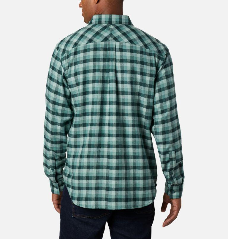 Flare Gun™ Stretch Flannel | 369 | M Camicia Flare Gun Stretch Flannel da uomo, Thyme Green Grid Plaid, back