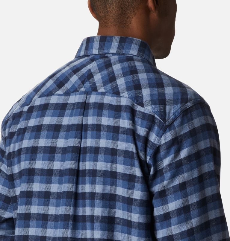 Flare Gun™ Stretch Flannel | 452 | L Camicia Flare Gun Stretch Flannel da uomo, Night Tide Grid Plaid, a3