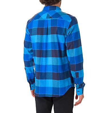 Men's Flare Gun Stretch Flannel Shirt Flare Gun™ Stretch Flannel | 011 | L, Azure Blue Big Check, back