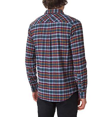 Men's Flare Gun Stretch Flannel Shirt , back