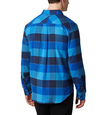 Men's Flare Gun™ Stretch Flannel - Big Flare Gun™ Stretch Flannel | 464 | 4X, Azure Blue Big Check, back