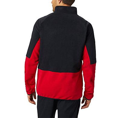 Basin Trail™ Fleece Full Zip Basin Trail™ Fleece Full Zip | 437 | L, Mountain Red, Black, back