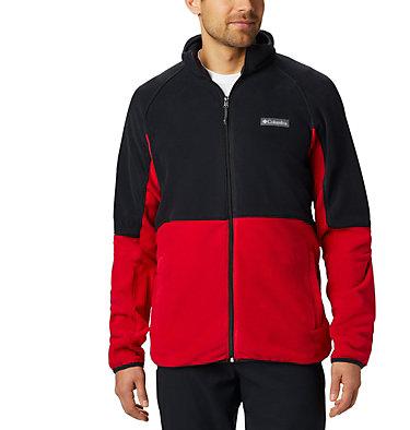 Basin Trail™ Fleece Full Zip Basin Trail™ Fleece Full Zip | 437 | L, Mountain Red, Black, front