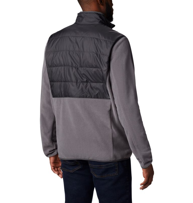 Basin Butte™ Fleece Full Zip | 023 | XL Men's Basin Butte™ Fleece Full Zip Jacket, City Grey, Shark, back