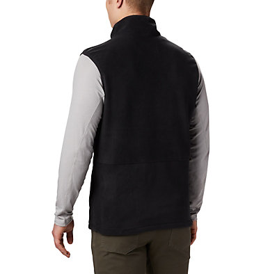 Men's Basin Trail™ Fleece Vest - Big Basin Trail™ Fleece Vest | 030 | 1X, Black, back