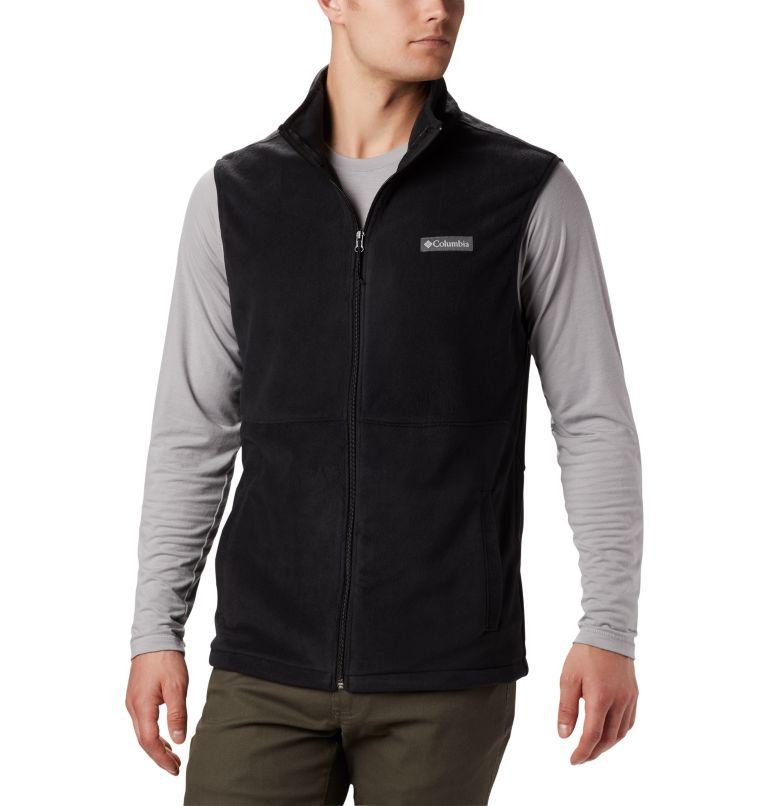 Basin Trail™ Fleece Vest | 010 | 2XT Men's Basin Trail™ Fleece Vest - Tall, Black, front