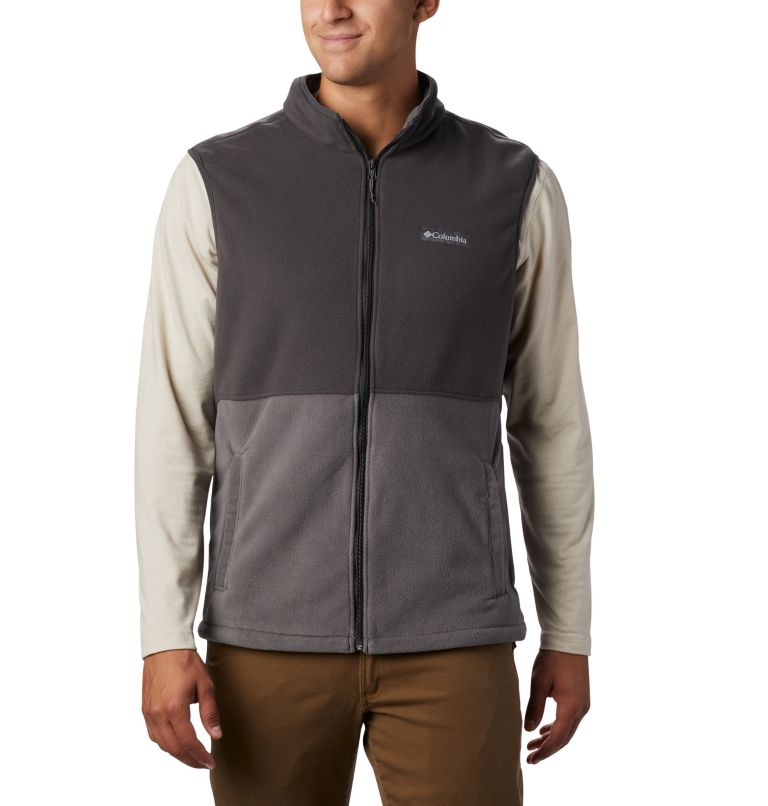 Men's Basin Trail™ Fleece Vest - Tall Men's Basin Trail™ Fleece Vest - Tall, front