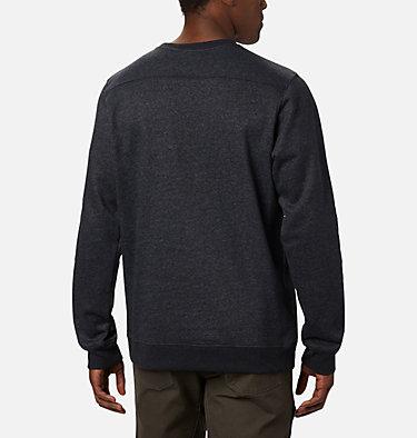 Men's Hart Mountain™ Graphic Sweatshirt Hart Mountain™ Graphic Crew | 012 | M, Black Heather Tough, back