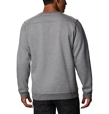 Men's Hart Mountain™ Graphic Sweatshirt Hart Mountain™ Graphic Crew | 012 | M, Charcoal Heather Tough, back