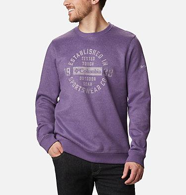 Men's Hart Mountain™ Graphic Sweatshirt Hart Mountain™ Graphic Crew | 012 | M, Soft Purple Heather Tough, front
