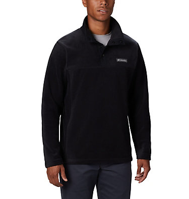 Men's Steens Mountain™ Half Snap Fleece Steens Mountain™ Half Snap | 397 | XXL, Black, front