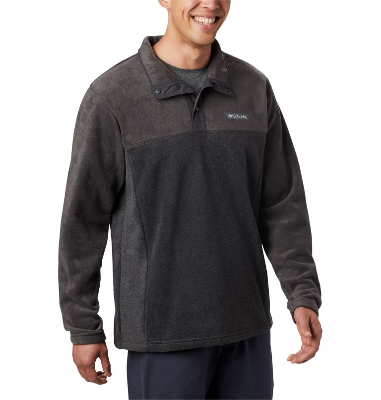 Men's Steens Mountain™ Half Snap Fleece Pullover Men's Steens Mountain™ Half Snap Fleece Pullover, a1