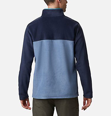 Men's Steens Mountain™ Half Snap Fleece Pullover Steens Mountain™ Half Snap | 630 | S, Bluestone, Collegiate Navy, Canyon Blue, back