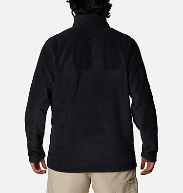 Men's Steens Mountain™ Half Snap Fleece Pullover - Big Steens Mountain™ Half Snap | 464 | 2X, Black, back