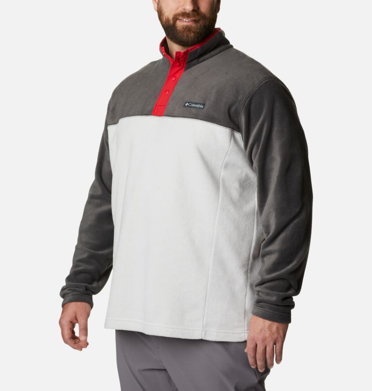 Men's Steens Mountain™ Half Snap Fleece Pullover - Big Men's Steens Mountain™ Half Snap Fleece Pullover - Big, a3