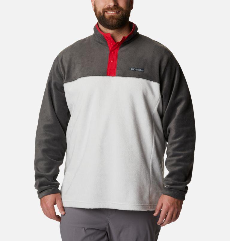 Men's Steens Mountain™ Half Snap Fleece Pullover - Big Men's Steens Mountain™ Half Snap Fleece Pullover - Big, front