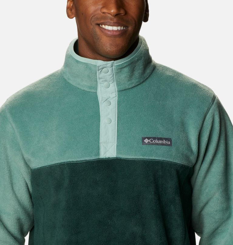 Men's Steens Mountain™ Half Snap Fleece Pullover - Big Men's Steens Mountain™ Half Snap Fleece Pullover - Big, a2