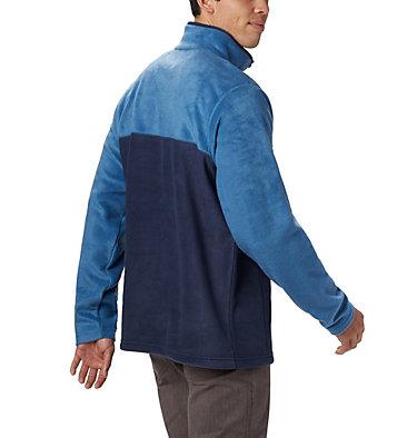 Men's Steens Mountain™ Half Snap Fleece Pullover - Big Steens Mountain™ Half Snap | 464 | 2X, Collegiate Navy, Scout Blue, back