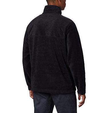 Men's Steens Mountain™ Half Snap Fleece Pullover - Tall Steens Mountain™ Half Snap | 464 | 2XT, Black, back