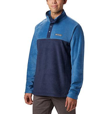 Men's Steens Mountain™ Half Snap Fleece Pullover - Tall Steens Mountain™ Half Snap | 464 | 2XT, Collegiate Navy, Scout Blue, front