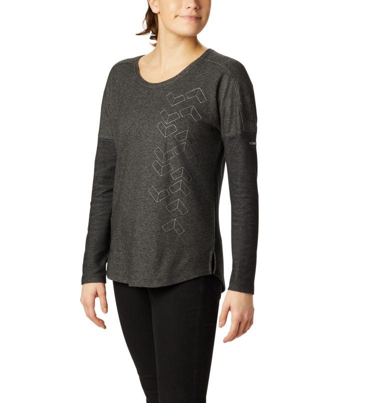 Chandail à manches longues en tricot fantaisie Times Two™ pour femme Chandail à manches longues en tricot fantaisie Times Two™ pour femme, front