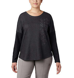 Haut à manches longues en tricot tendance Times Two™ pour femme
