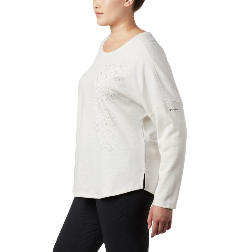 Women's Times Two™ Novelty Knit Long Sleeve Shirt - Plus Size Women's Times Two™ Novelty Knit Long Sleeve Shirt - Plus Size, a1