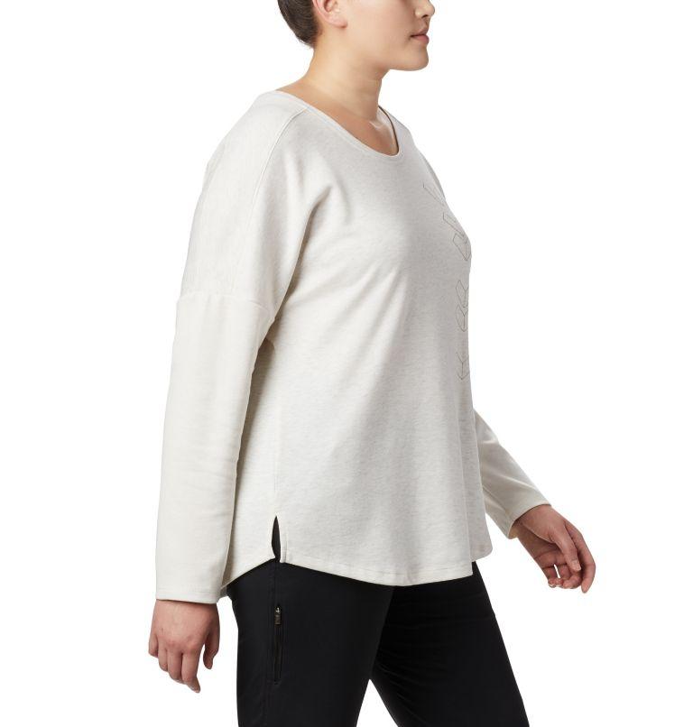 Women's Times Two™ Novelty Knit Long Sleeve Shirt - Plus Size Women's Times Two™ Novelty Knit Long Sleeve Shirt - Plus Size, a3