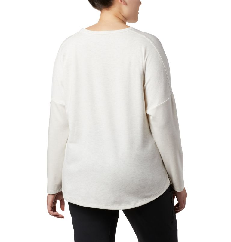 Women's Times Two™ Novelty Knit Long Sleeve Shirt - Plus Size Women's Times Two™ Novelty Knit Long Sleeve Shirt - Plus Size, back