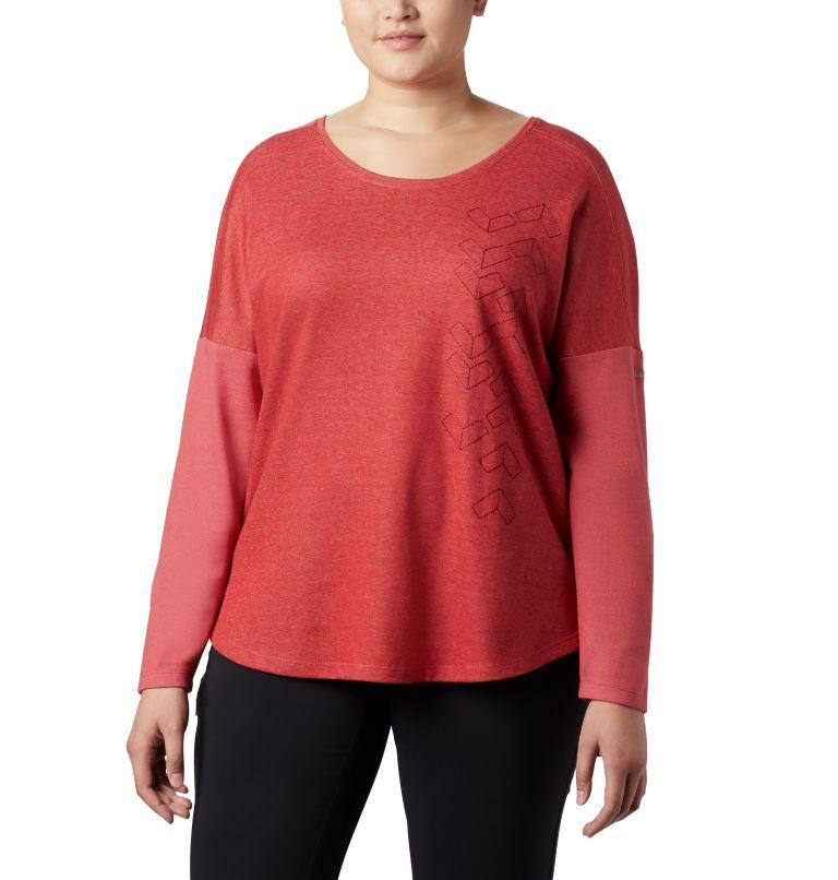 Haut à manches longues en tricot tendance Times Two™ pour femme Haut à manches longues en tricot tendance Times Two™ pour femme, front