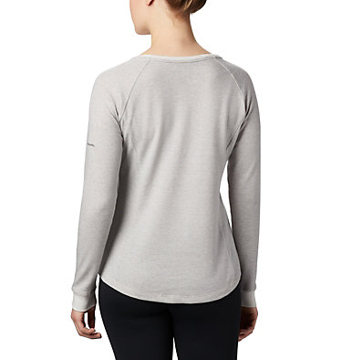 Women's Times Two™ Knit Henley Top Times Two™ Knit Henley | 580 | L, Chalk, back
