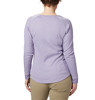 Women's Times Two™ Knit Henley Top Times Two™ Knit Henley | 580 | L, Twilight, back