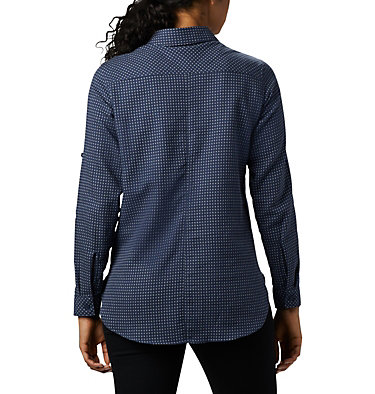 Women's Times Two™ Long Sleeve Tunic Times Two™ LS Tunic | 523 | L, Nocturnal Dobby, back