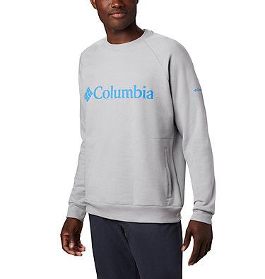 Chandail à col rond Columbia Lodge™ pour homme Columbia Lodge™ Crew | 463 | L, Columbia Grey Heather, Azure Blue, front