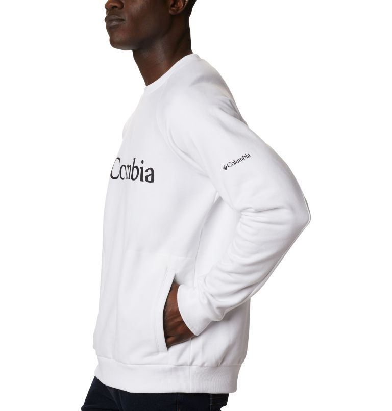 Columbia Lodge™ Crew | 100 | XL Men's Columbia Lodge™ Crew, White, Black, a1