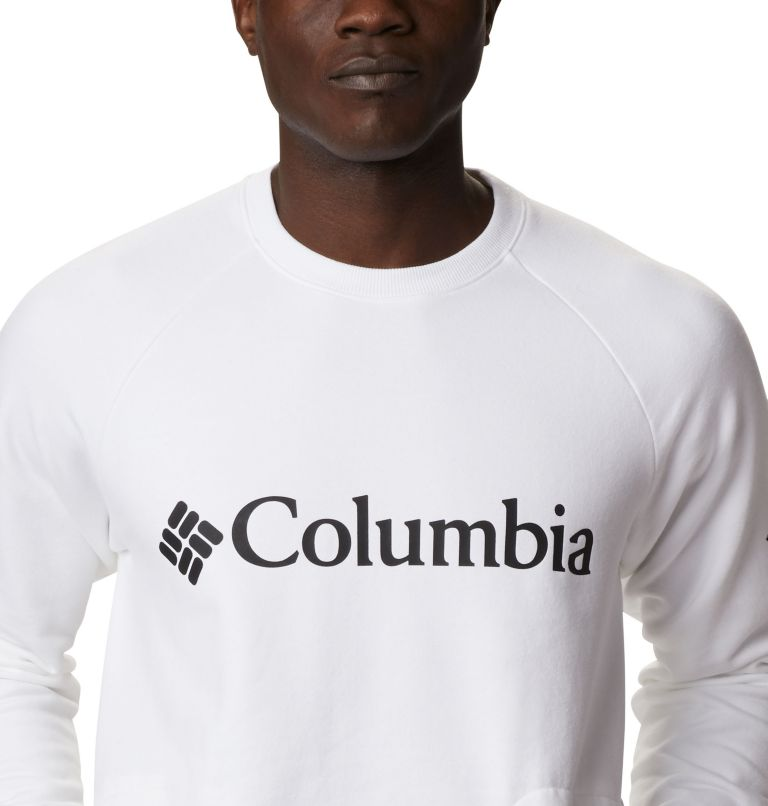 Columbia Lodge™ Crew | 100 | XL Men's Columbia Lodge™ Crew, White, Black, a2