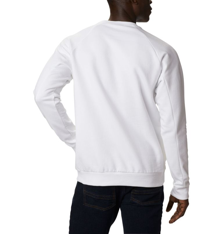 Columbia Lodge™ Crew | 100 | XL Men's Columbia Lodge™ Crew, White, Black, back