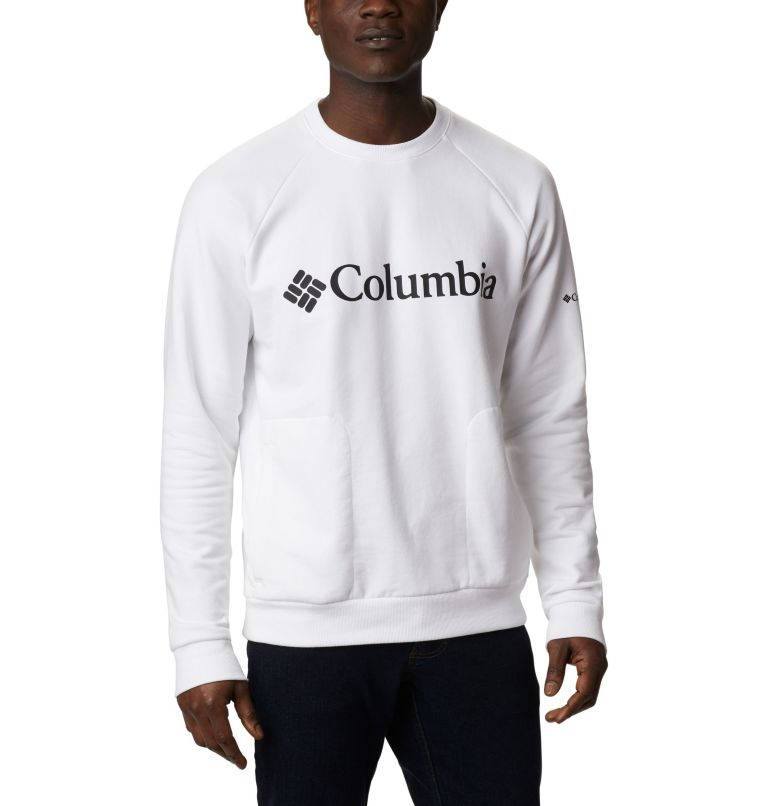 Columbia Lodge™ Crew | 100 | XL Men's Columbia Lodge™ Crew, White, Black, front