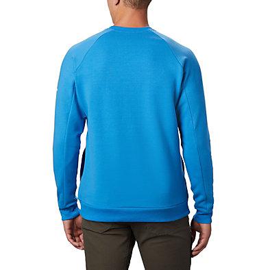 Chandail à col rond Columbia Lodge™ pour homme Columbia Lodge™ Crew | 463 | L, Azure Blue, White, back