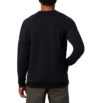 Men's Columbia Lodge™ Crew - Tall Columbia Lodge™ Crew | 039 | 2XT, Black, back