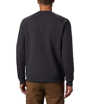 Men's Columbia Lodge Crew Sweater Columbia Lodge™ Crew | 010 | XXL, Shark Heather, back