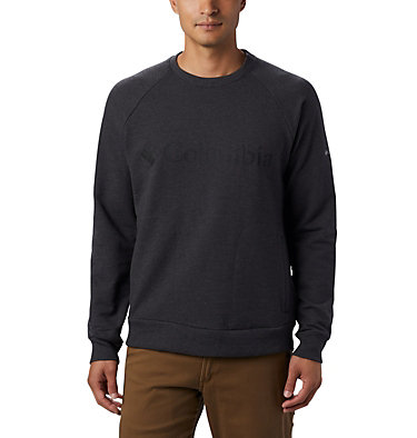 Men's Columbia Lodge Crew Sweater Columbia Lodge™ Crew | 010 | XXL, Shark Heather, front