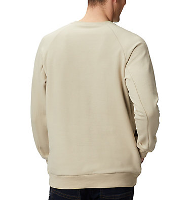Men's Lodge™ Crew Columbia Lodge™ Crew | 160 | L, Fossil, New Olive, back