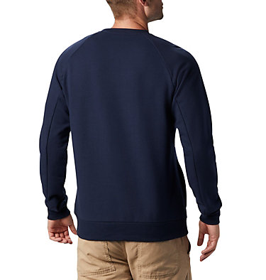 Men's Lodge™ Crew Columbia Lodge™ Crew | 160 | L, Collegiate Navy, White, back