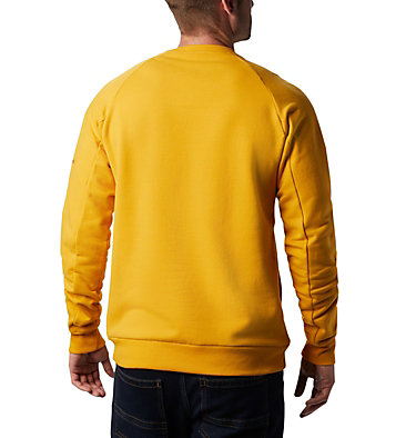 Men's Lodge™ Crew Columbia Lodge™ Crew | 160 | L, Bright Gold, Carnelian Red, back