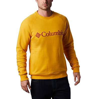 Men's Lodge™ Crew Columbia Lodge™ Crew | 160 | L, Bright Gold, Carnelian Red, front